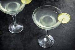Cocktail en vrille photos stock