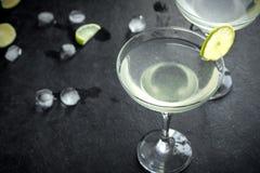Cocktail en vrille image libre de droits