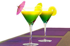 Cocktail esotici Fotografia Stock