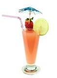 Cocktail esotico del succo di frutta, immagine stock