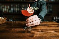 Cocktail esotico delizioso fotografia stock libera da diritti