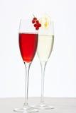 Cocktail festivos foto de stock royalty free