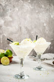 Cocktail floating margarita Royalty Free Stock Image