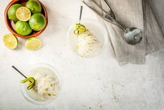 Cocktail floating margarita Stock Image