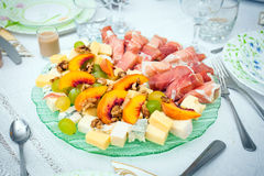 Cocktail food appetizer Stock Images