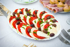 Cocktail food appetizer Stock Image