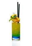 Cocktail frais dans une glace Images libres de droits