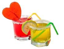 Cocktail frais de jus Photos stock