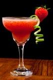 Cocktail fresco della fragola Fotografia Stock Libera da Diritti