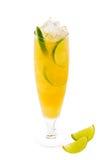 Cocktail fresco di estate con calce Immagine Stock Libera da Diritti