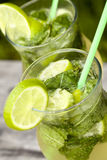 Cocktail fresco do mojito Foto de Stock