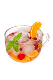 Cocktail of fresh fruit Stock Photography
