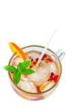 Cocktail of fresh fruit Royalty Free Stock Photo