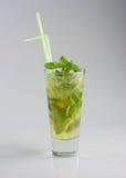 Cocktail frio do mojito fotografia de stock royalty free