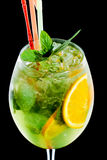 Cocktail froid Photographie stock