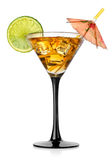 Cocktail in a glass Royalty Free Stock Images