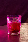 Cocktail, glass with alcohol. Night club, bar Royalty Free Stock Images
