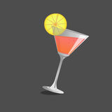 Cocktail  glass and cocktail  , Vector Stock Images