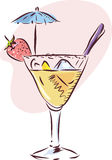 Cocktail Glass Royalty Free Stock Images