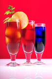 Cocktail Glasses Stock Image
