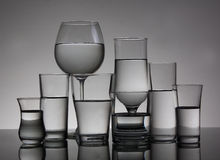 Free Cocktail Glasses Royalty Free Stock Photo - 24250905