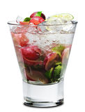Cocktail - Grape Mojito Royalty Free Stock Photo