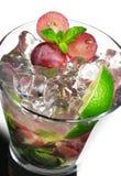 Cocktail - Grape Mojito Stock Image