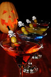 Cocktail   on Halloween Royalty Free Stock Images