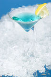 Cocktail and ice Royalty Free Stock Photo