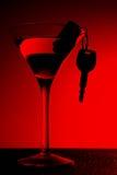 Cocktail illégal Image libre de droits