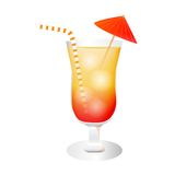 Cocktail Illustration Royalty Free Stock Photography