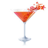 Cocktail with imagination Stock Photo