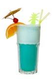 Cocktail isolado no branco Fotografia de Stock Royalty Free