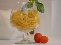 Cocktail italian pasta Stock Images