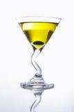 Cocktail jaune images libres de droits