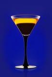 Cocktail jaune Photographie stock libre de droits