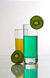 Cocktail and kiwi Royalty Free Stock Photography