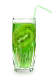 Cocktail with kiwi frut Stock Photography