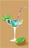 Cocktail with kiwi Royalty Free Stock Photo