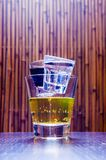Cocktail kurzer Tequila Chuck Norris Stockbilder