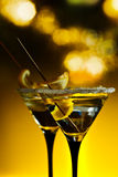 Cocktail with lemon Royalty Free Stock Photos