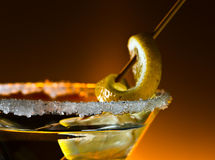 Cocktail with lemon Stock Photo