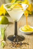 Cocktail with lemon slice Royalty Free Stock Photos