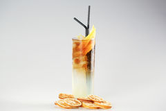 Cocktail with lemon Royalty Free Stock Images