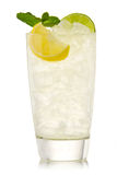 Cocktail with lime and lemon Stock Photography