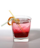 Cocktail with liquor Royalty Free Stock Images
