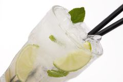 Cocktail Long drink mojito Stock Photos