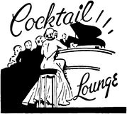 Cocktail Lounge Royalty Free Stock Photos