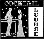 Cocktail Lounge 3 Stock Images