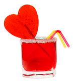Cocktail love Stock Images